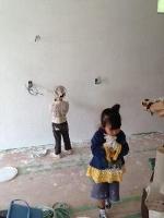 壁塗り大会in深井
