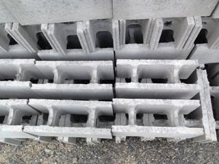 型枠コンクリートブロック