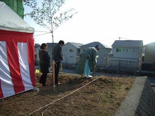 地鎮祭/高山台の家/奈良県香芝市